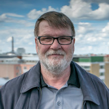 Tapio Toivonen, chairman of the housing association, As Oy Tammelanpuistokatu 31-33